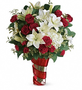 Teleflora's Work Of Heart Bouquet in Lansing MI, Delta Flowers