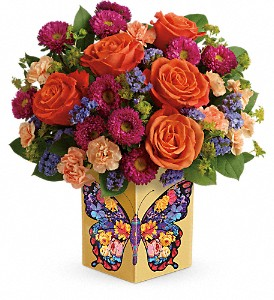 Teleflora's Gorgeous Gratitude Bouquet in Orlando FL, Harry's Famous Flowers