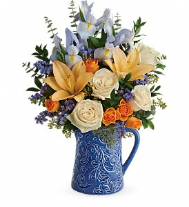 Teleflora's  Spring Beauty Bouquet in Arcata CA, Country Living Florist & Fine Gifts