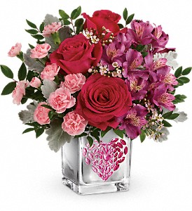 Teleflora's Young At Heart Bouquet in Orland Park IL, Sherry's Flower Shoppe