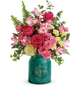Teleflora's Country Beauty Bouquet in Plano TX, Plano Florist