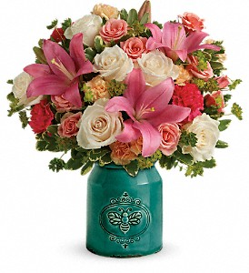 Teleflora's Country Skies Bouquet in Framingham MA, Party Flowers