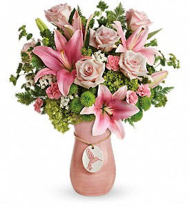 Teleflora's Elegance In Flight Bouquet in Syracuse NY, St Agnes Floral Shop, Inc.