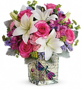 Teleflora's Garden Poetry Bouquet in Colonia NJ, Vintage and Nouveau