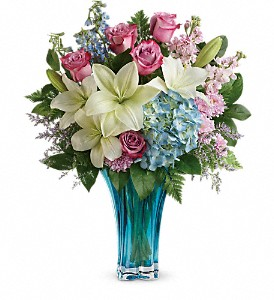 Teleflora's Heart's Pirouette Bouquet in Lewiston ME, Val's Flower Boutique, Inc.