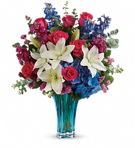 Teleflora's Ocean Dance Bouquet in Penetanguishene ON, Arbour's Flower Shoppe Inc