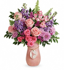 Teleflora's Winged Beauty Bouquet in Middle Village NY, Creative Flower Shop