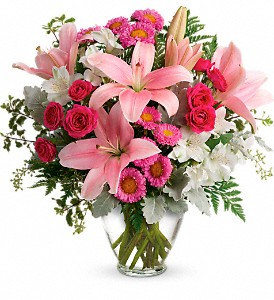 Blush Rush Bouquet in Huntington WV, Spurlock's Flowers & Greenhouses, Inc.
