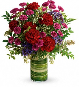 Teleflora's Vivid Love Bouquet in Thornhill ON, Orchid Florist