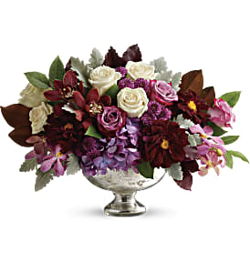 Teleflora's Beautiful Harvest Centerpiece in San Jose CA, Amy's Flowers