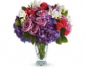 Teleflora's Rhapsody in Purple in Baltimore MD, Lord Baltimore Florist