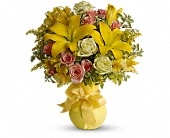 Teleflora's Sunny Smiles in Chicago IL, Marcel Florist Inc.