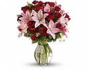 Lavish Love Bouquet with Long Stemmed Red Roses in Hellertown PA, Pondelek's Florist & Gifts