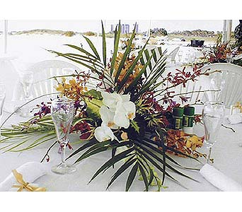 Orchid Centerpiece in Largo FL, Rose Garden Florist