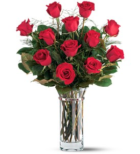 Teleflora's Hearts and Roses Bouquet in Houston TX, Classy Design Florist