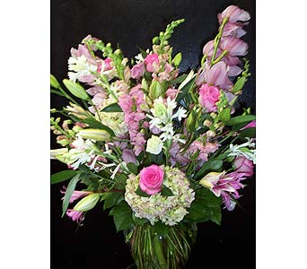 Elements of Pink in New York NY, Fellan Florists Floral Galleria
