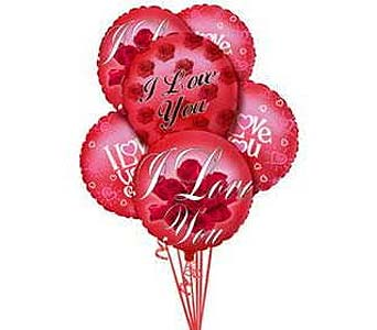 Stein Mylar Balloon Bouquet - Love in Burlington NJ, Stein Your Florist
