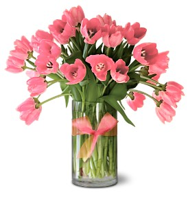 Teleflora's Precious Pink Tulips - Premium in Salt Lake City UT, Especially For You
