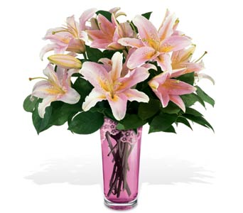Teleflora's Grand Lily Bouquet by Galway in Gaithersburg MD, Mason's Flowers