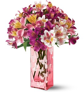 Teleflora's Dancing Butterflies Bouquet in Mineola NY, East Williston Florist, Inc.