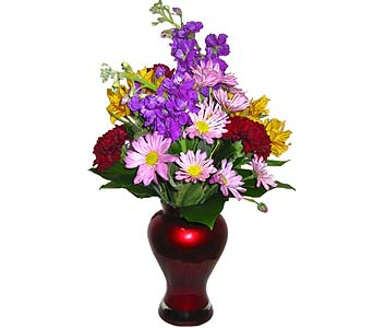 VF58 ''Love-A-Lot Bouquet'' in Oklahoma City OK, Array of Flowers & Gifts