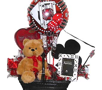 VGB148 ''The Gambler'' Gift Bouquet in Oklahoma City OK, Array of Flowers & Gifts