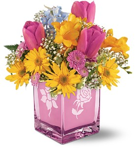 Teleflora's Burst of Spring Bouquet in Quitman TX, Sweet Expressions