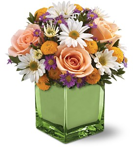 Teleflora's Spring Spirit Bouquet in Gaithersburg MD, Flowers World Wide Floral Designs Magellans