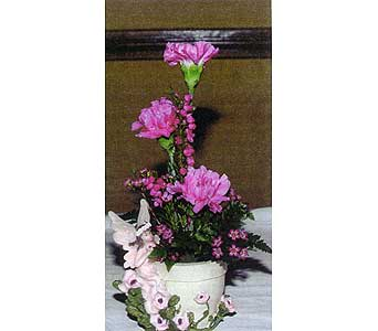 Fairy Vase w/ Carns in Sioux Falls SD, Country Garden Flower-N-Gift