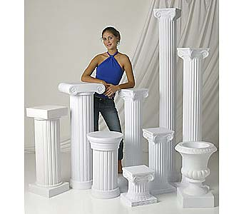 Choice of Nebraska Wedding Columns in Grand Island NE, Roses For You!