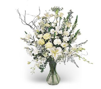 Rhapsody in White in Dripping Springs TX, Flowers & Gifts by Dan Tay's, Inc.