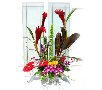 Tropical Beauty in Lake Forest CA, Cheers Floral Creations