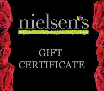Gift Certificate in Darien CT, Nielsen's Florist And Garden Shop
