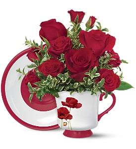 Teleflora's Playful Poppy Bouquet in Oklahoma City OK, Array of Flowers & Gifts