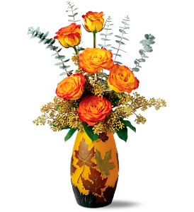 Teleflora's Leaves of Fall Bouquet in Bel Air MD, Bel Air Florist