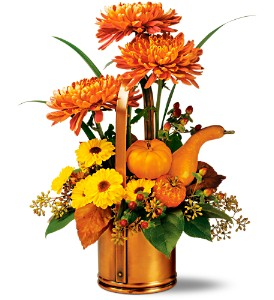 Teleflora's WILLIAMSBURG� Fall Traditions Bouquet in Willow Park TX, A Wild Orchid Florist