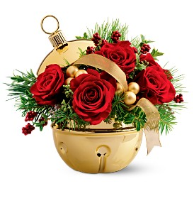 Teleflora's Golden Bell Bouquet in Gaithersburg MD, Flowers World Wide Floral Designs Magellans