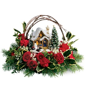 Thomas Kinkade's Cozy Christmas in Columbus MS, Noweta's Green Thumb