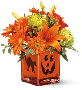 Teleflora's Creepy Cube Bouquet in Jensen Beach FL, Brandy's Flowers & Candies