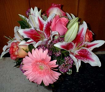 Pink Romance in Serenity in Dallas TX, Z's Florist