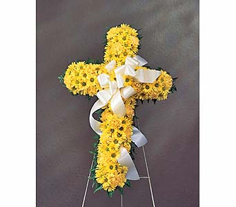 Cross Tribute in Abington MA, The Hutcheon's Flower Co, Inc.
