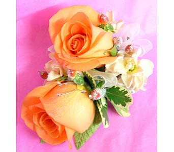 Melon Roses in Massapequa Park NY, Bayview Florist & Montage  1-800-800-7304