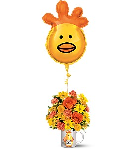 Teleflora's Dr. Chicken Bouquet in London ON, Lovebird Flowers Inc