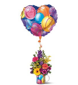 Teleflora's Hip Hip Hooray Bouquet in Sioux Lookout ON, Cheers! Gifts, Baskets, Balloons & Flowers
