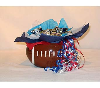 Football Candy Bouquet in Lebanon TN, Sunshine Flowers