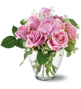 Teleflora's Tender Pinks in Manhattan KS, Westloop Floral