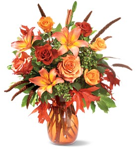 Fall Grandeur in Willow Park TX, A Wild Orchid Florist