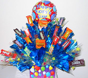''Treats for the Boss'' Candy Bouquet in Oklahoma City OK, Array of Flowers & Gifts