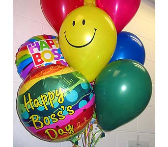 "BB140 ""Bosses Day"" Balloon Bouquet in Oklahoma City OK, Array of Flowers & Gifts"
