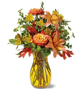 Golden Autumn in Willow Park TX, A Wild Orchid Florist